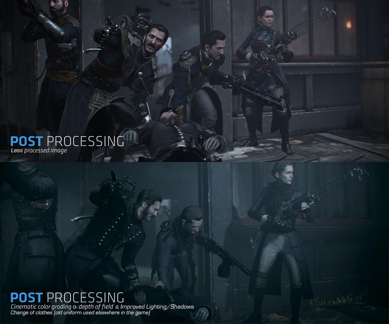 The Order: 1886 Comparison Screenshot