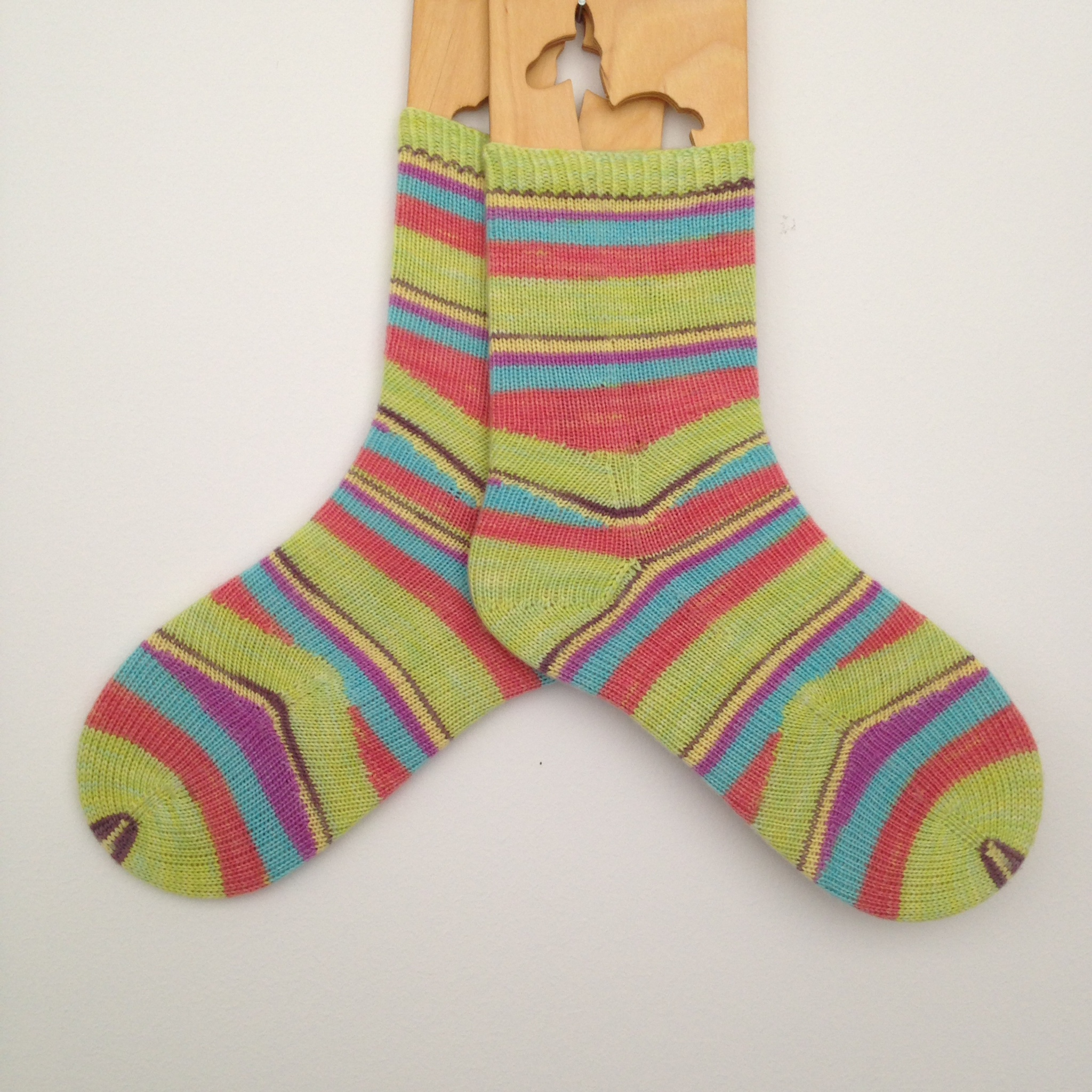 My Mystical Spiral Socks