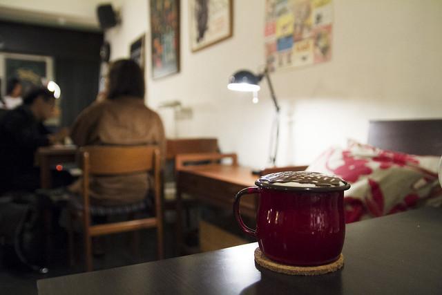 Mocha at 烏鴉咖啡 Cafe Kafka