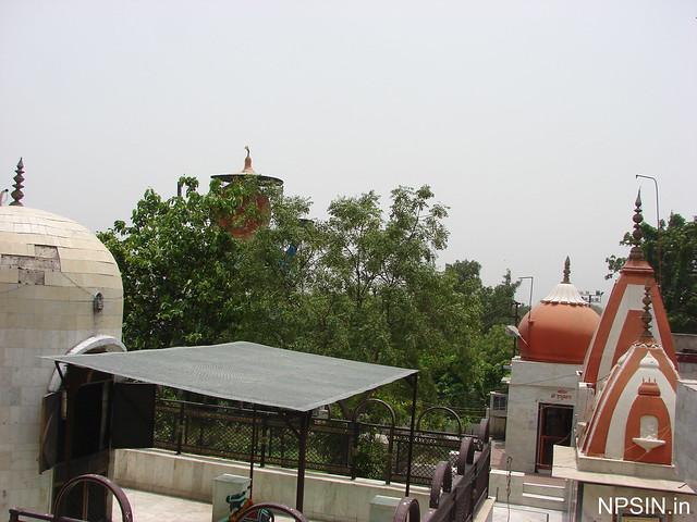A view of Shiv Mandir, Hanuman Mandir, Maa Kali Mandir and Bhairav Mandir