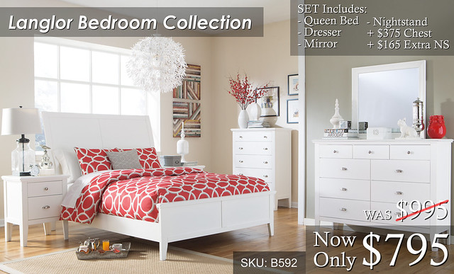 Langlor Bedroom Set