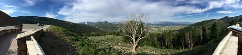 panorama mountains honda landscape id roadtrip motorcycle magna sawtooths galena motorcycleroadtrip id75