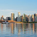 Vancouver from Stanley park by Djordje Cicovic