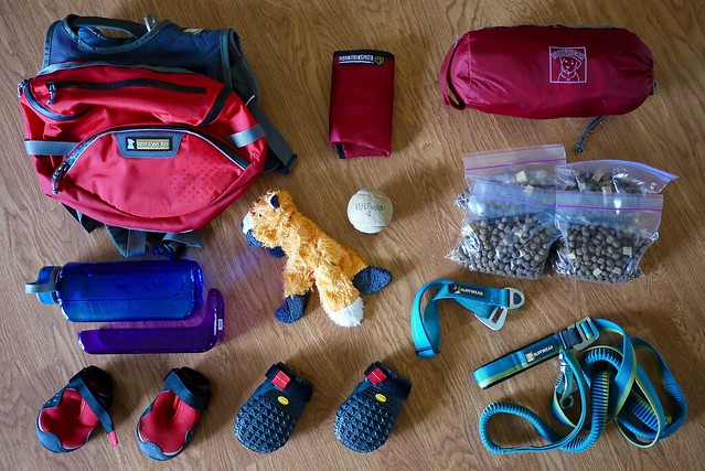 Hiking with Dogs: Food and Packing List
