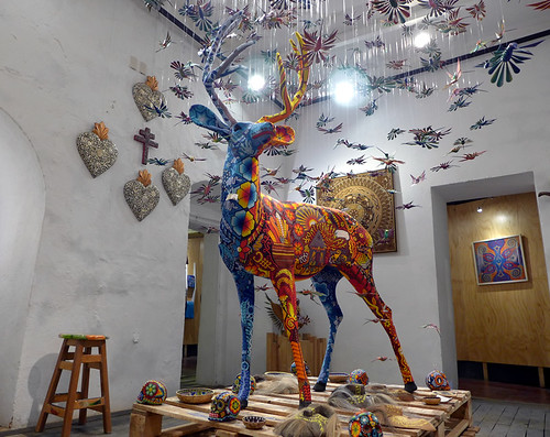 Magical deer in Oaxaca