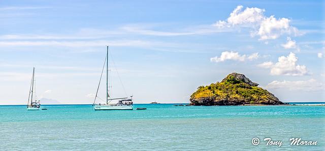 Off Antigua