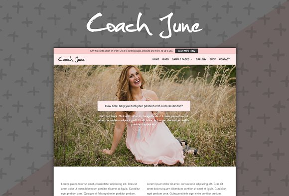 Coach June v2.0.4 - Wordpress Theme