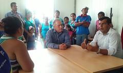 Sesión de trabajo con habitantes del sitio San Francisco de Yahuila parroquia Chibunga