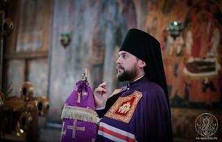 Всенощное бдение в Софийском соборе 140