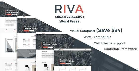 Riva WordPress Theme free download
