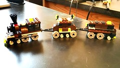 Faux LEGO Train