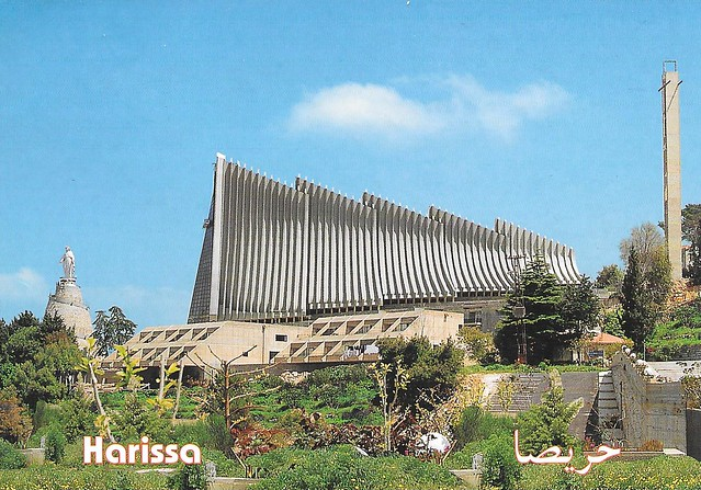 Harissa, Basilica of Our Lady of Lebanon, Lebanon