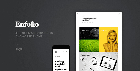 Enfolio WordPress Theme free download