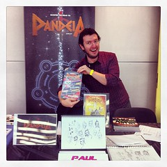 The amazing @pandeiacomic!