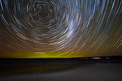 Aurora Star Trails
