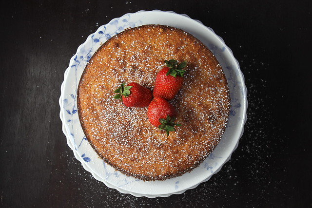 Grapefruit Cake (flourless)