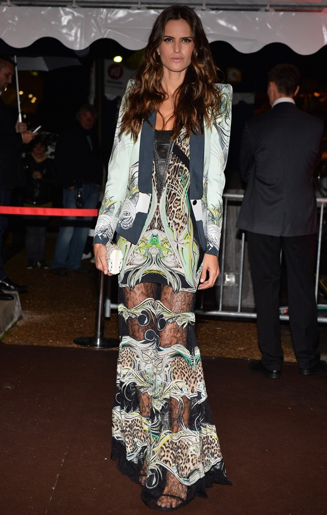 9 Izabel Goulart in Roberto Cavalli@RC Dinner Party in Cannes 2013-05-22