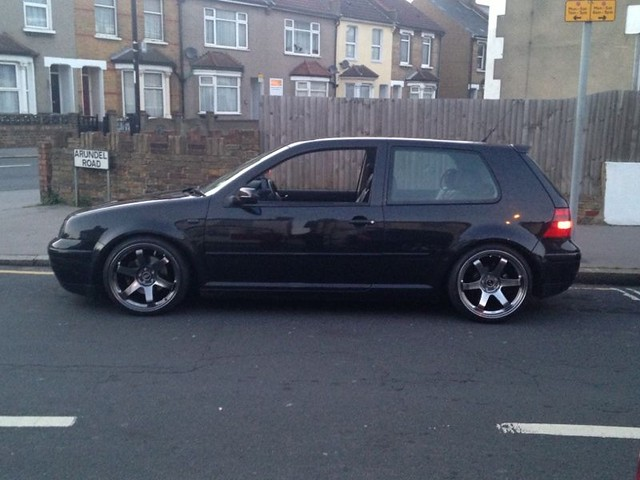 Just another mk4 golf among the 1000's 8967338692_005b3a92b8_z