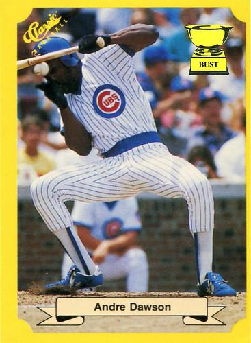 Baseball Card Bust Andre Dawson 1987 Classic
