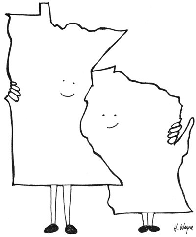 Minnesota and Wisconsin Love