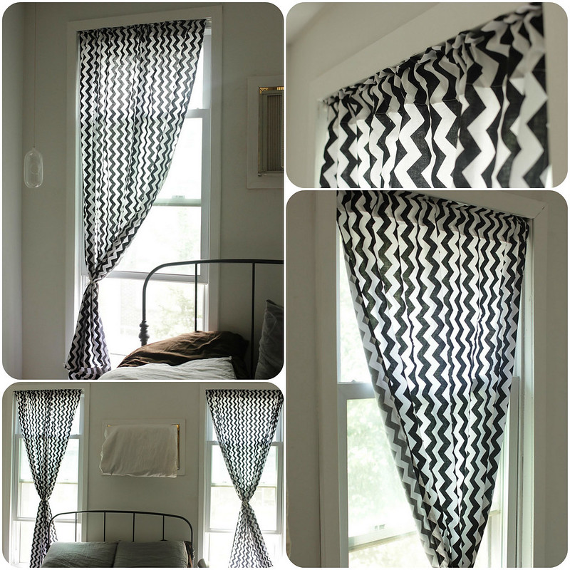 a common thread diy how to make curtains easy sewing tutorial. Black Bedroom Furniture Sets. Home Design Ideas