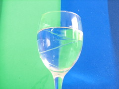 wine glass, drinkware, stemware, cobalt blue, glass, champagne stemware, drink, alcoholic beverage,