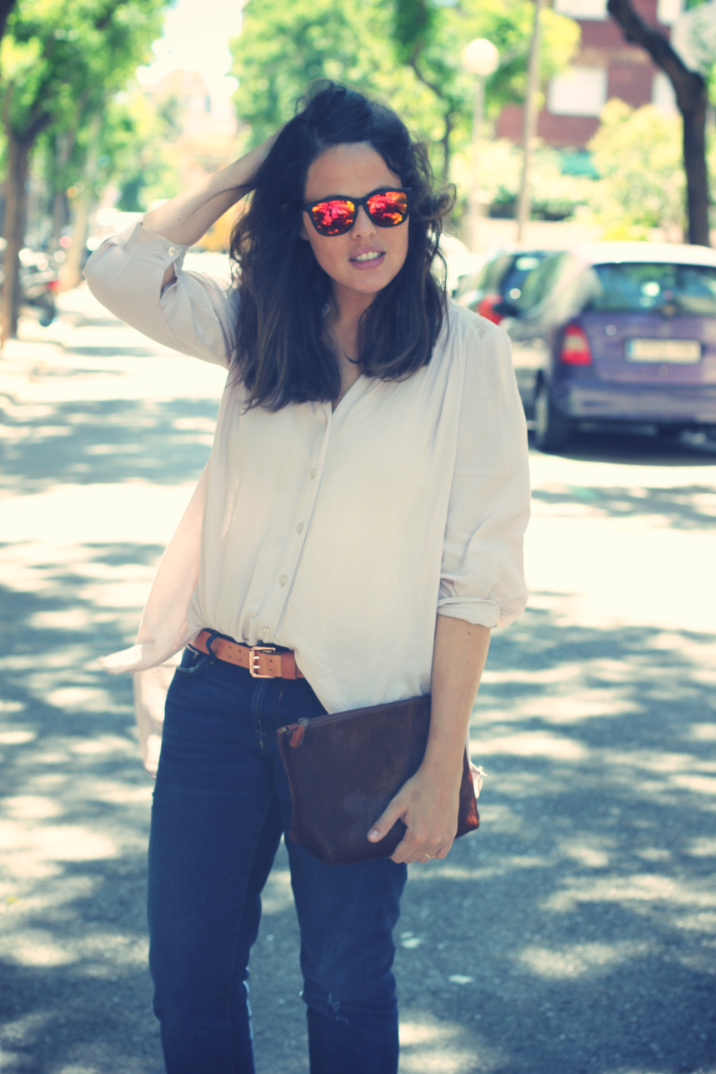Look Long Shirt + spektre sunglasses
