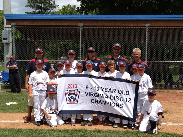 CSNLL 9-10 Year Olds - 2013 District 12 Champions