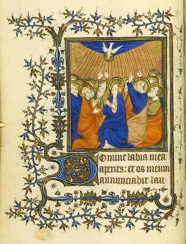 007-Horae Beatae Virginis Mariae…29v- Biblioteca Nacional de Varsovia
