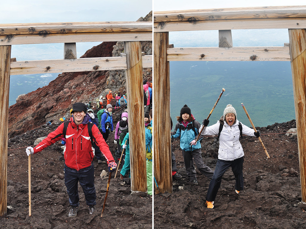 Conquering Japan's Highest Mountain