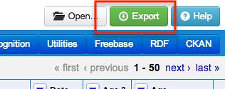 Refine export