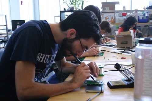 Second DIY cellphone workshop