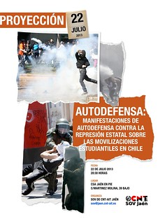 Vídeo-fórum antirrepresivo: AUTODEFENSA