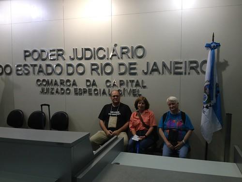 At the Poder Judiciario