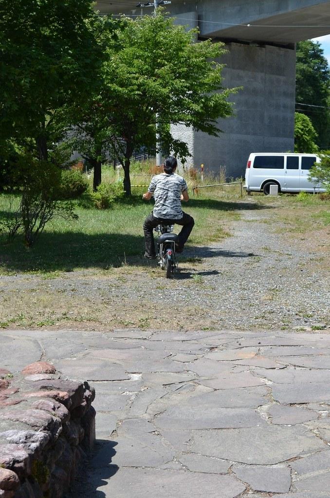 電動自転車。2