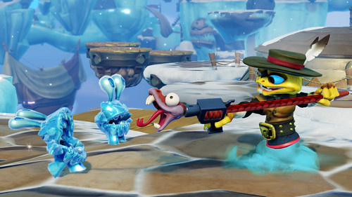 Skylanders SWAP Force - Rattle Shift (Rattle Shake_Night Shift)