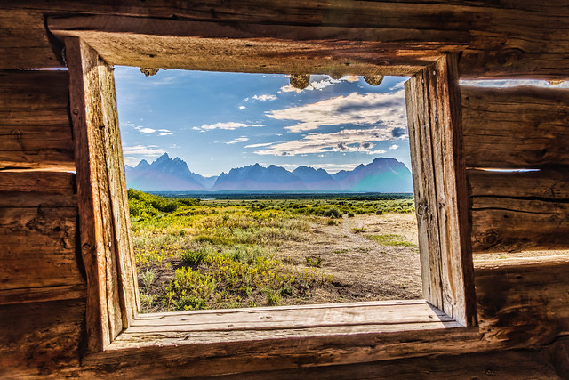 A Look Through Cunningham Cabin
