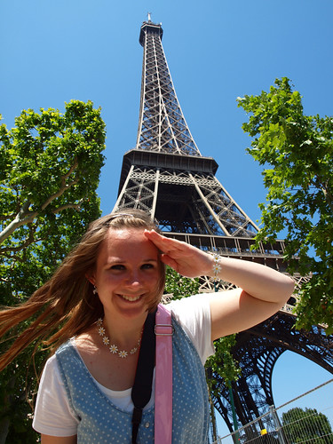 Me and Eiffeltower