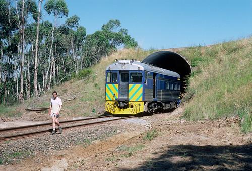 bridge train railway australia victoria bluebird aus dartmoor rta mtgambier greenwald cargeeg