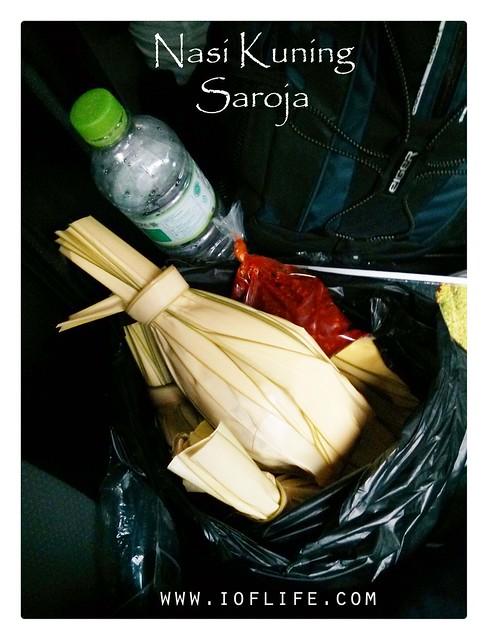 nasi kuning Saroja_bekal