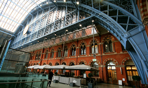Barlow Train Shed, St Pancras, London