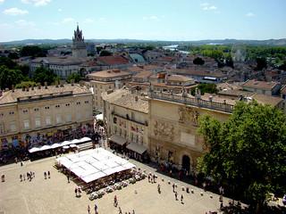 067 uitzicht over Avignon