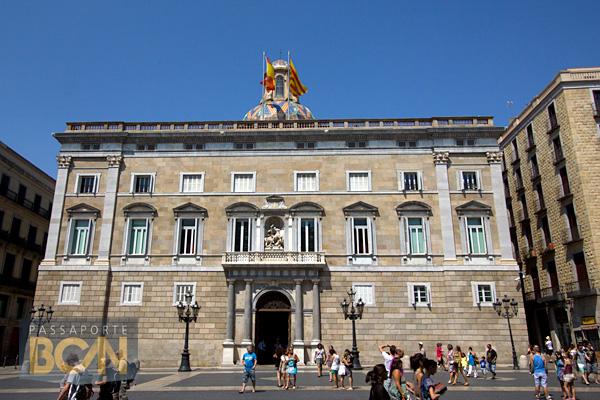 Palau de la Generalitat, Plaça Sant Jaume, Barcelona
