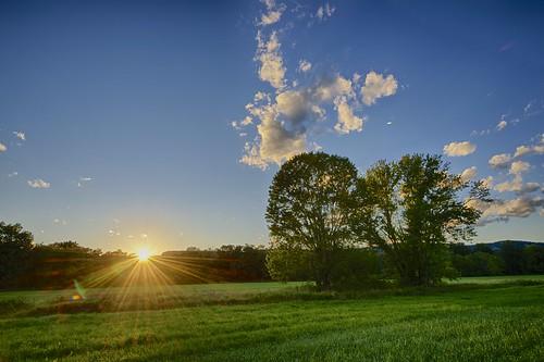 trees sunset usa ny clouds gunks newpaltz sunstar ulstercounty shawangunkridge nyquistharcourtwildlifesanctuary