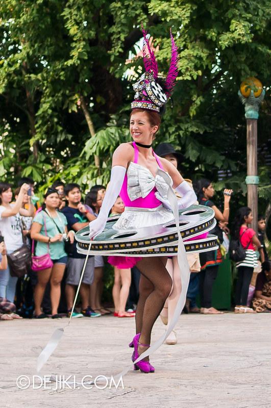Hollywood Dreams Parade - Ribbon Dancer