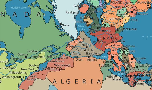 Fogonazos Un viaje por el mapa poltico de Pangea