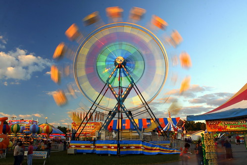 2013 Coffee Co. Fair: Astro Wheel in the Day