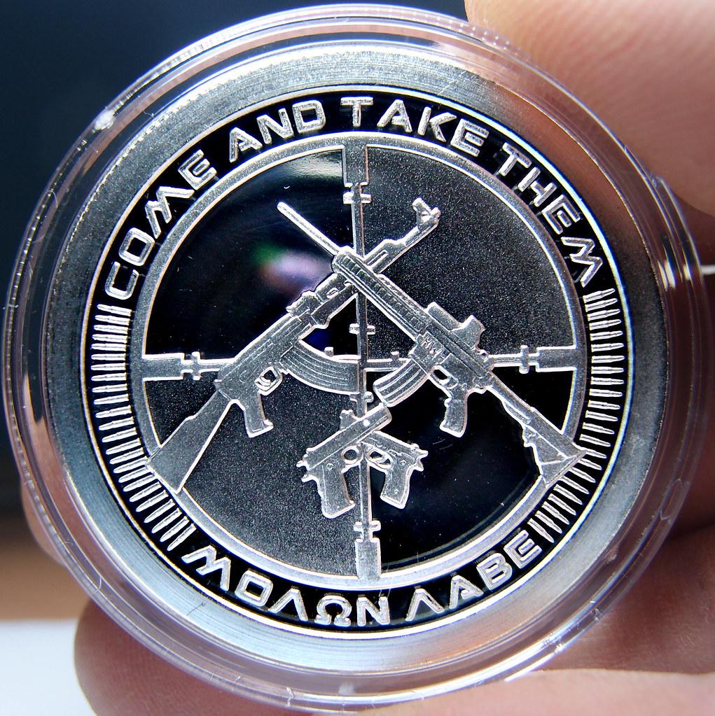 "Colección de onzas de plata "" Silver Bullets & Silver Shield"" 10174211065_e775dac10f_b"