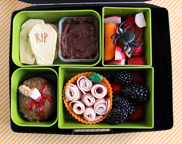 4th Grader Halloween Bento #812