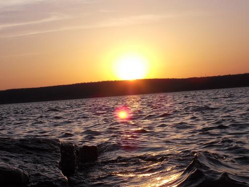 water sunrise landscape hiking backpacking natureshots appalachiabay